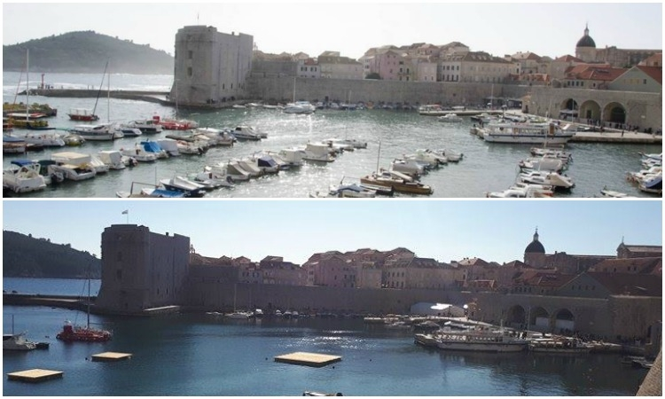 Spot the difference: Robin Hood changes the Old Port