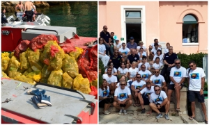 WORLD CLEANUP DAY ON LOKRUM: Over 200 kilos of waste collected