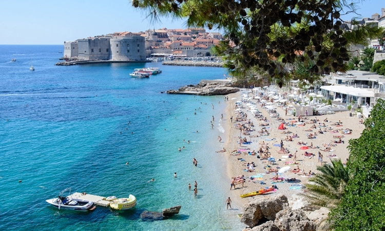 Sea quality in Dubrovnik marked as excellent on 117 beaches