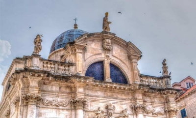 St. Blaise Church in the heart of Dubrovnik