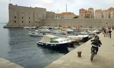 Action scenes in Dubrovnik