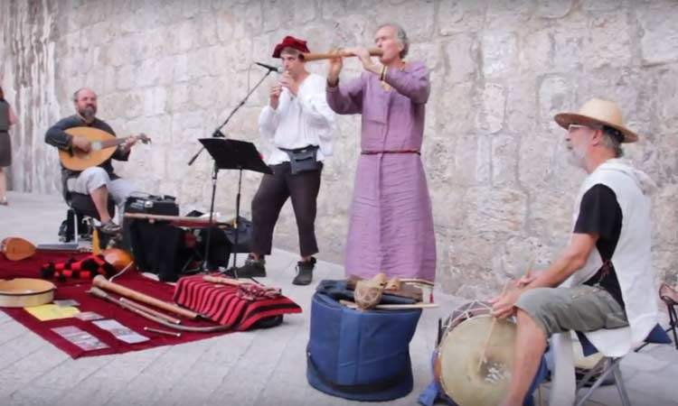 Music scene in Dubrovnik