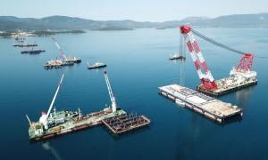 Construction of Peljesac Bridge running behind schedule