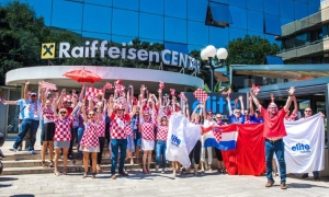 VIDEO – Dubrovnik travel agency shows support for Croatia