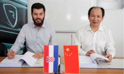 Chinese investment into Rimac