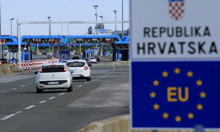 Recommendations and instructions for crossing the Croatian border