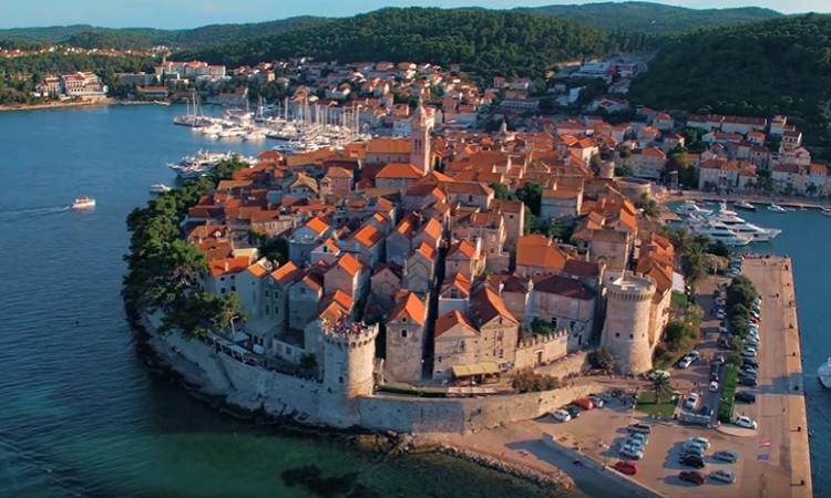 VIDEO – Captivating aerial footage of Korcula