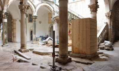 Dubrovnik wins award for the reconstruction of the Rector's Palace atrium