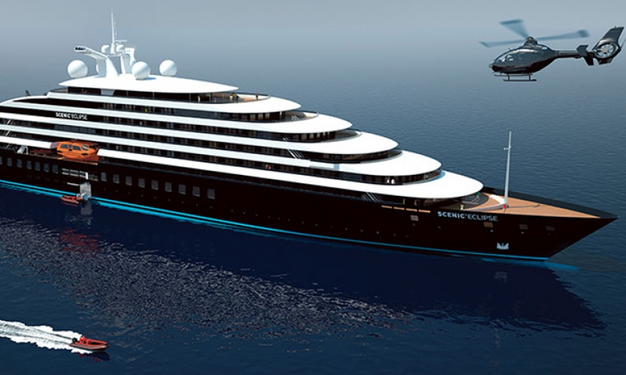 World s first six star cruise ship to be built in croatia for Cost of world cruise