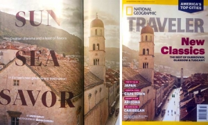 Dubrovnik on the front cover