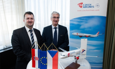 Czech Airlines to operate to Zagreb
