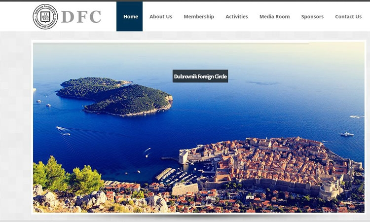 New website of the Dubrovnik Foreign Circle