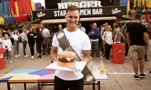 """Dubrovnik's """"Guloso"""" is the winner of the Zagreb Burger Festival"""
