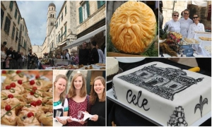 VIDEO/PHOTO - Dubrovnik Table reaches from one end of the Stradun to the other