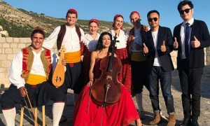 Chinese TV show films in Dubrovnik