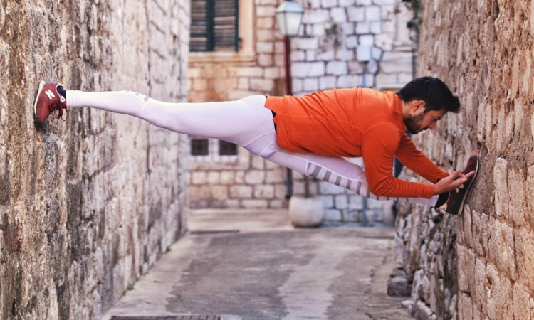 PHOTO – Dubrovnik and yoga make the perfect combination