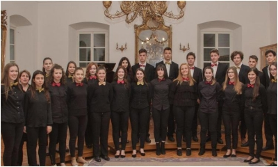 The Mixed Choir of the Luka Sorkocevic Art School to perform in the Mirror Hall