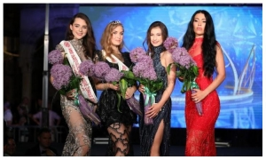 Lara Brkic gets the title of the most beautiful girl in the Dubrovnik-Neretva County