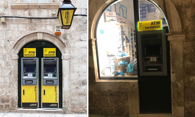 Dubrovnik blighted by ATMs