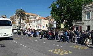 Start of cruiser season brings long queues to Dubrovnik