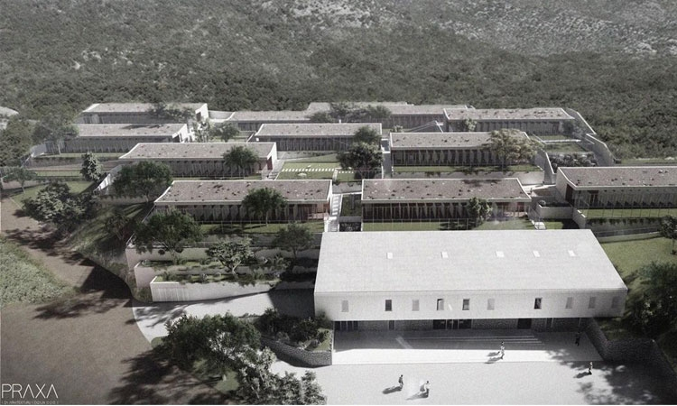 Future animal shelter in Dubrovnik