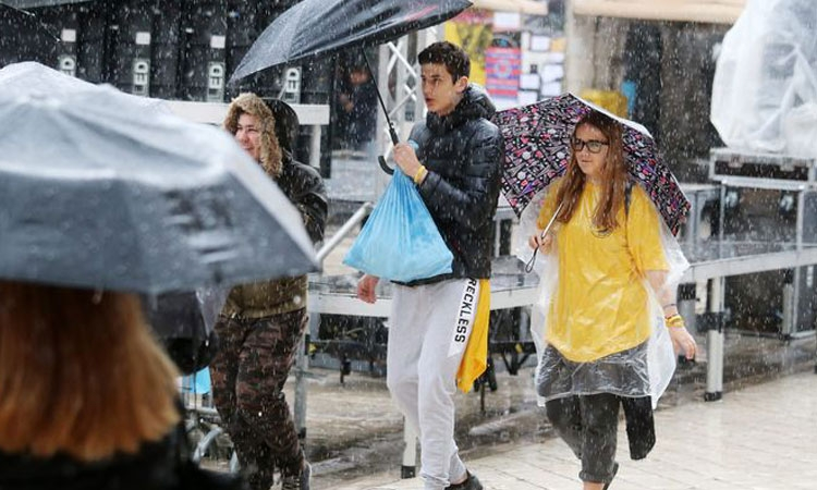Coldest and wettest month of May in Croatia for decades