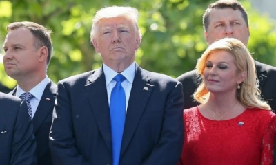 Croatian President to meet President Trump in Warsaw