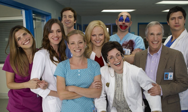 Children's Hospital cast