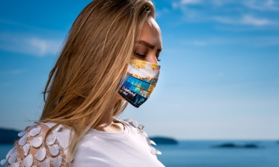 Order your Dubrovnik inspired face mask online today