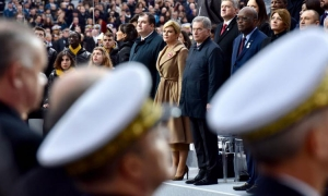 Croatian President joins world leaders to commemorate Armistice