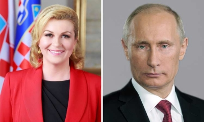 Croatian President to meet Putin and talk tourism – will travel visas be on the table
