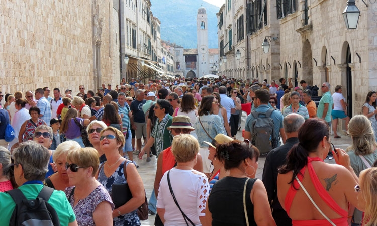 Busy middle of September in Dubrovnik