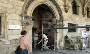 Last preparations - Rector's Palace to open tomorrow