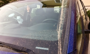 Dirty cars all over Dubrovnik
