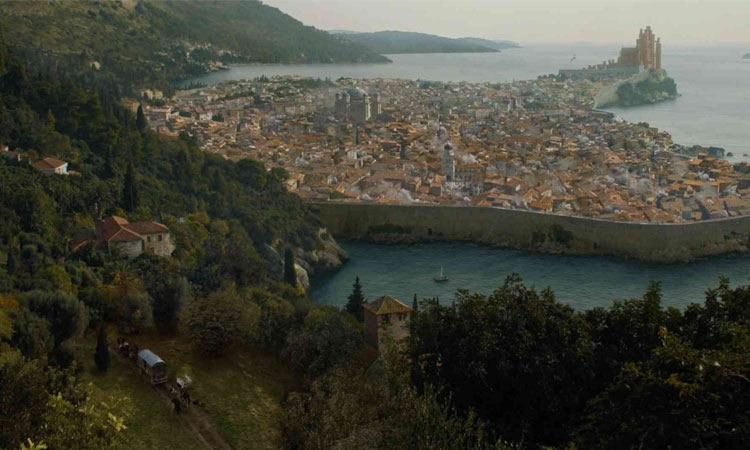 CGI city of Dubrovnik