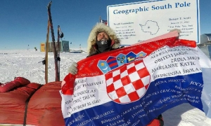 Davor Rostuhar - The first Croatian to conquer the South Pole
