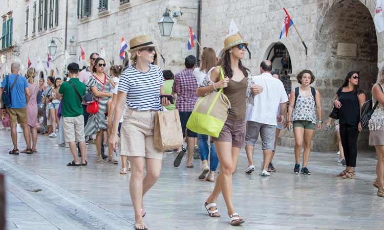 Tourists from United Kingdom love Dubrovnik