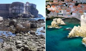 Where did Dubrovnik's Adriatic go?