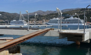 Cruise ship season opens in Dubrovnik for 2017