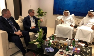 Croatian Tourism Minister at business meeting in Dubai