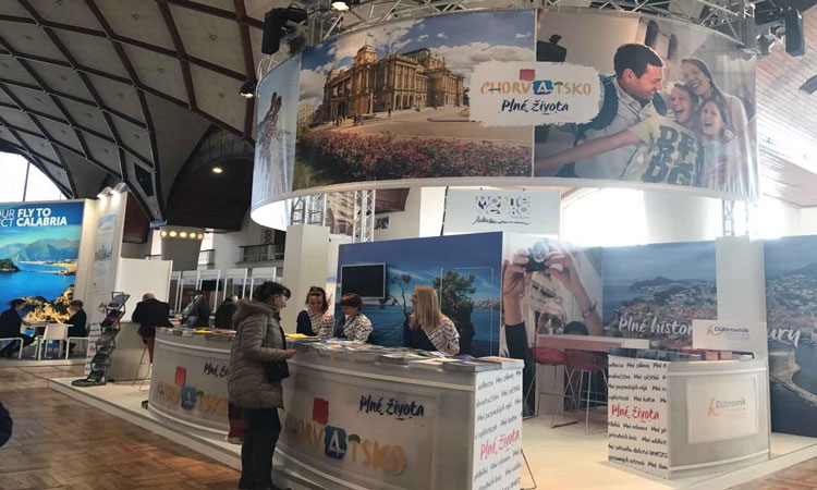 Dubrovnik-Neretva County Tourist Board on Holiday World fair in Prague