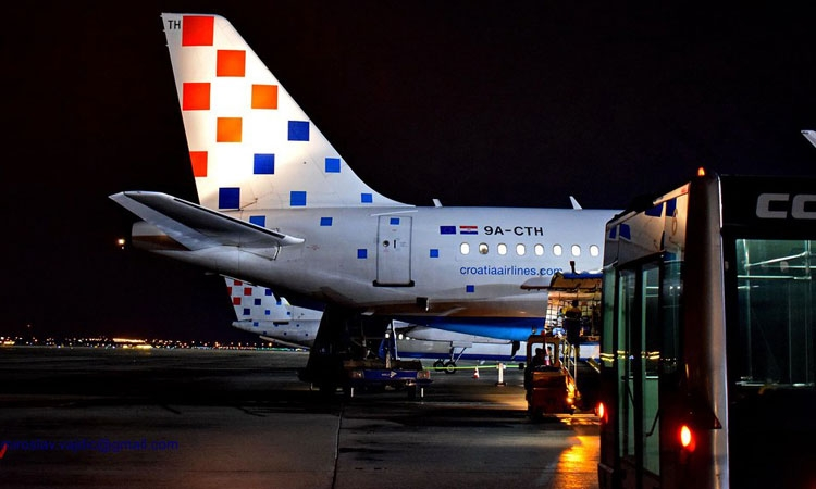 Croatia Airlines handles 630,000 fewer passengers due to Covid-19 pandemic