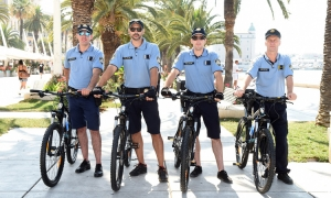 Croatian police receive donation from German colleagues