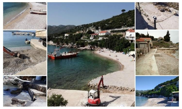 Beaches in Dubrovnik almost ready for the swimming season