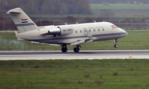 Official state jet grounded in Dubrovnik due to oil leak