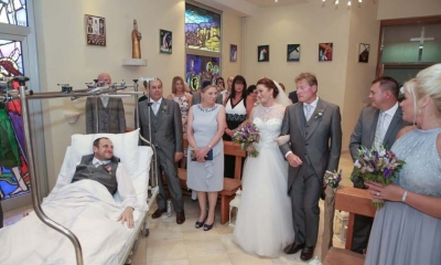 Photo gallery: In sickness and in health indeed – hospital wedding in Dubrovnik