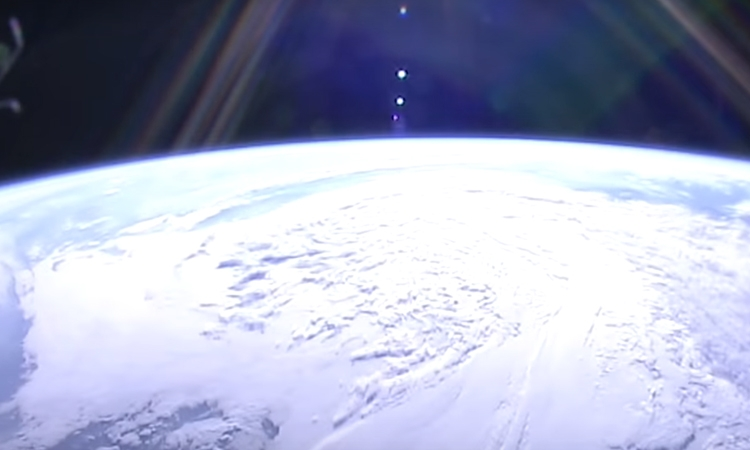VIDEO – NASA release stunning time-lapse of sunset from space