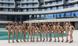 Miss Universe Croatia raises the temperature in Dubrovnik