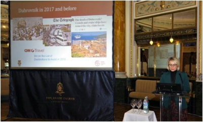 Dubrovnik presented as an example of good tourism practice at the SMARTMED project conference