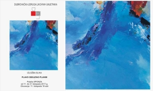 Blue Coloured Blue exhibition opens in Dubrovnik